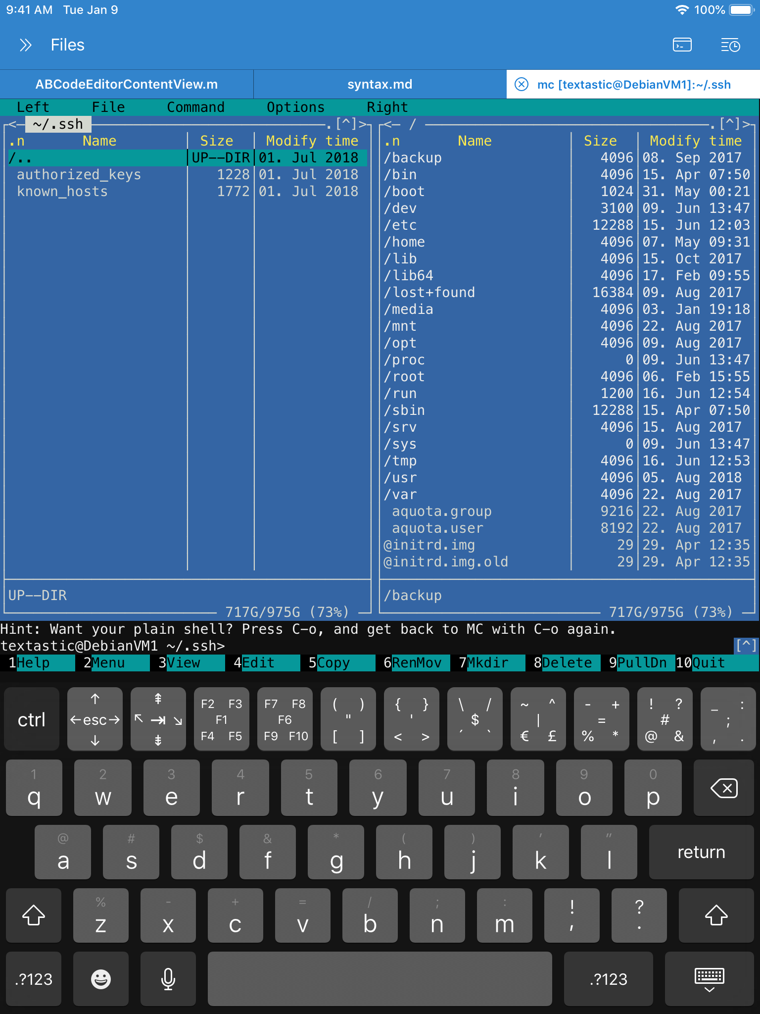 Textastic - Text, Code, and Markup Editor with Syntax